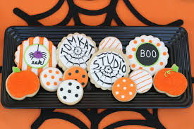 Decorate Halloween Cookies Halloween Treats Table U2013 Glorious Treats