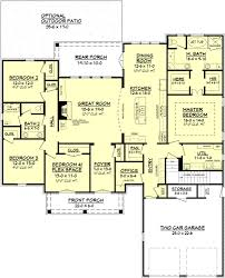 family room floor plans baby nursery large open floor plans gatlin house plan open floor