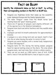 penguin facts worksheets u0026 species information for kids pdf