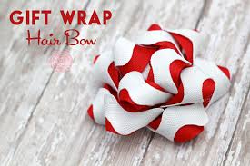 gift wrapping bows gift wrap hair bow