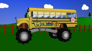 bus truck monster trucks children mega kids tv