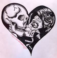 by skinderella sugar skull skeleton canvas