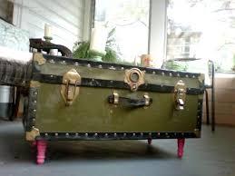 trunk coffee table diy guest post dear emmeline diy trunk coffee table the golden
