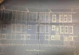 how to find blueprints of your house historic home plans how to find original row house