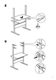 ikea manual standing desk charming inspiration ikea fredrik desk version 2 jerker instructions