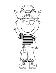 valuable pirate coloring pages pirate color pages kids