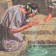 Jesus Healed The Blind Man Jesus Heals A Blind Man Liahona