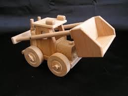 vrachtwagen bulldozer houten speelgoed wooden natural toys