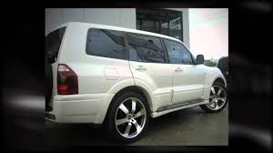 mitsubishi uae f1 wheel u0026 tyre mitsubishi pajero rolling on 22inch bboss youtube