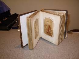 Antique Photo Album Antiques Atlas Victorian Photo Album C 1860 U0027s