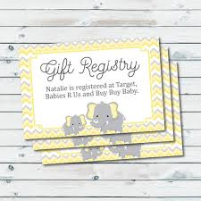 baby registry cards baby registry cards registry inserts baby shower gift