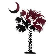 of south carolina alumni sticker gamecock clip usc south carolina palmetto tree decal