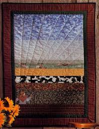 bird s eye view quilted wall hanging pattern howstuffworks
