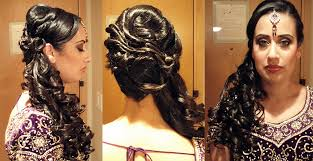 new hairstyles indian wedding curly side ponytail hair pinterest indian bridal hairstyles