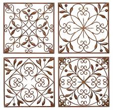 Decorative Panels by Wrought Iron Decorative Wall Panels Diy Wrought Iron Artwork From