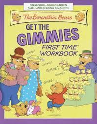 berenstien bears the berenstain bears get the gimmies book by stan berenstain