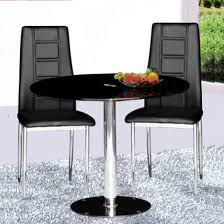 Two Seater Dining Table And Chairs 4 Undeniable Benefits Of Contemporary Glass Dining Tables
