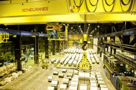 konecranes extends steel industry and advanced technology