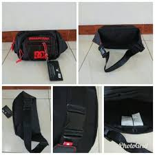 Tas Dc Asli terjual tas pinggang waist bag dc original outlet import kaskus