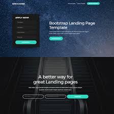 best free html5 video background bootstrap templates of 2017
