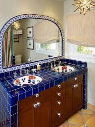 mexican tile bathroom ideas mexican tile bathroom ideas home bathroom design plan