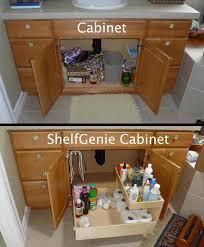 ideas on pinterest best bathroom storage ideas under sink under bathroom diy storage and organization hacks for small bathrooms the recipe turning this cabinet into a shelfgenie