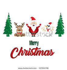 Christmas Decoration With Santa Claus by Christmas Theme Santa Claus Cute Little Stock Vector 66597322