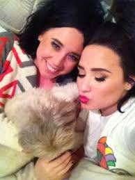 demi lovato on spending thanksgiving with my baby oliver
