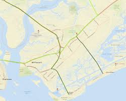 Charleston Sc Map Charleston Area Evacuation Routes Hurricane Guide