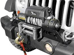 Rugged Ridge 8500 Winch Jeep Wrangler 8000 10500 Pound Winches Extremeterrain Free
