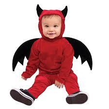 childs little devil fancy dress halloween costume toddler age 12
