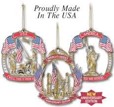 patriotic ornaments from metalmasters