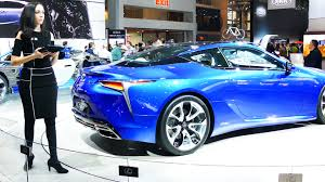 new lexus hybrid coupe lexus lc 500h lexus hybrid at new york international auto show