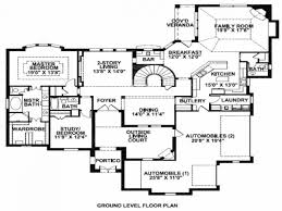 Floor Plans For A Mansion by Delighful Mansion House Plans 8 Bedrooms Bedroom 4 Luxury Intended
