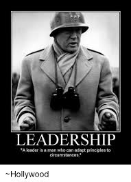 Leadership Meme - leadership a leader is a man who can adapt principles to