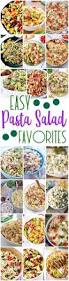easy pasta salads recipes u2013 the best yummy barbecue side dishes