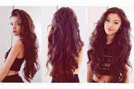 my everyday hair heatless wavy hair youtube