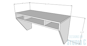 a beautiful space saving desk u2013 designs by studio c