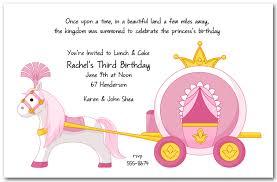 birthday invites give a special princess birthday invitations