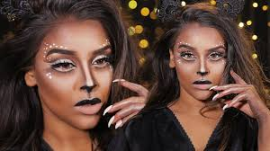easy cat halloween makeup halloween makeup tutorial cute pretty easy deer cat makeup