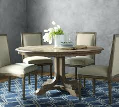 rustic gray round dining table gray transitional 7 piece round