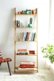 shelf endearing shelf ladder bookcase shelving ideas ladder