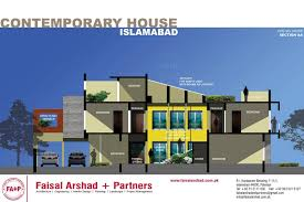 contemporary residence at naval anchorage islamabad by faisal