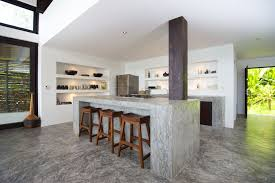 Furniture Kitchen Design 15 Stylish Kitchen Designs With Concrete Counter Highlights