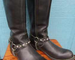 womens studded boots size 11 s boots etsy au