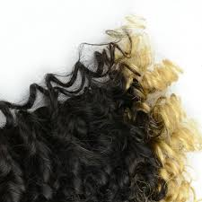 keratin tip extensions curly nail tip keratin fusion hair extensions in two tones ombre