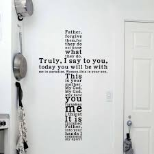 online get cheap christian wall decals aliexpress com alibaba group god vinyl quote wall decal sticker christian religious cross wall art home decor china
