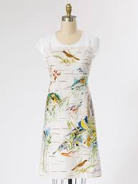 boreal birch birds chef apron linens u0026 kitchen aprons