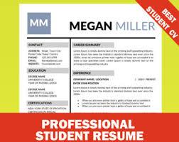 modern resume design cv designs cover letter template