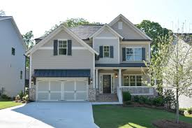 park chase new homes by rockhaven homes frontview of home built with the sheridan plan
